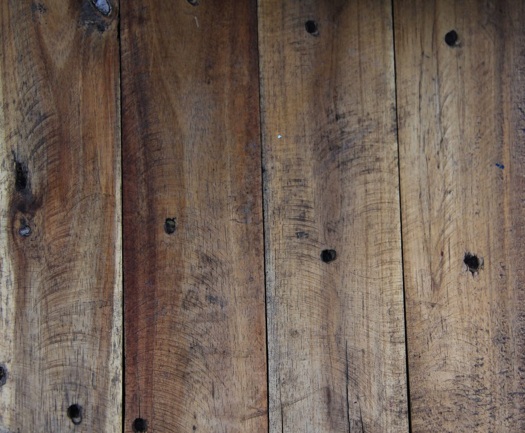 Grunge Wood Texture Rough Knotty Pine Cut Plank Floor Worn
