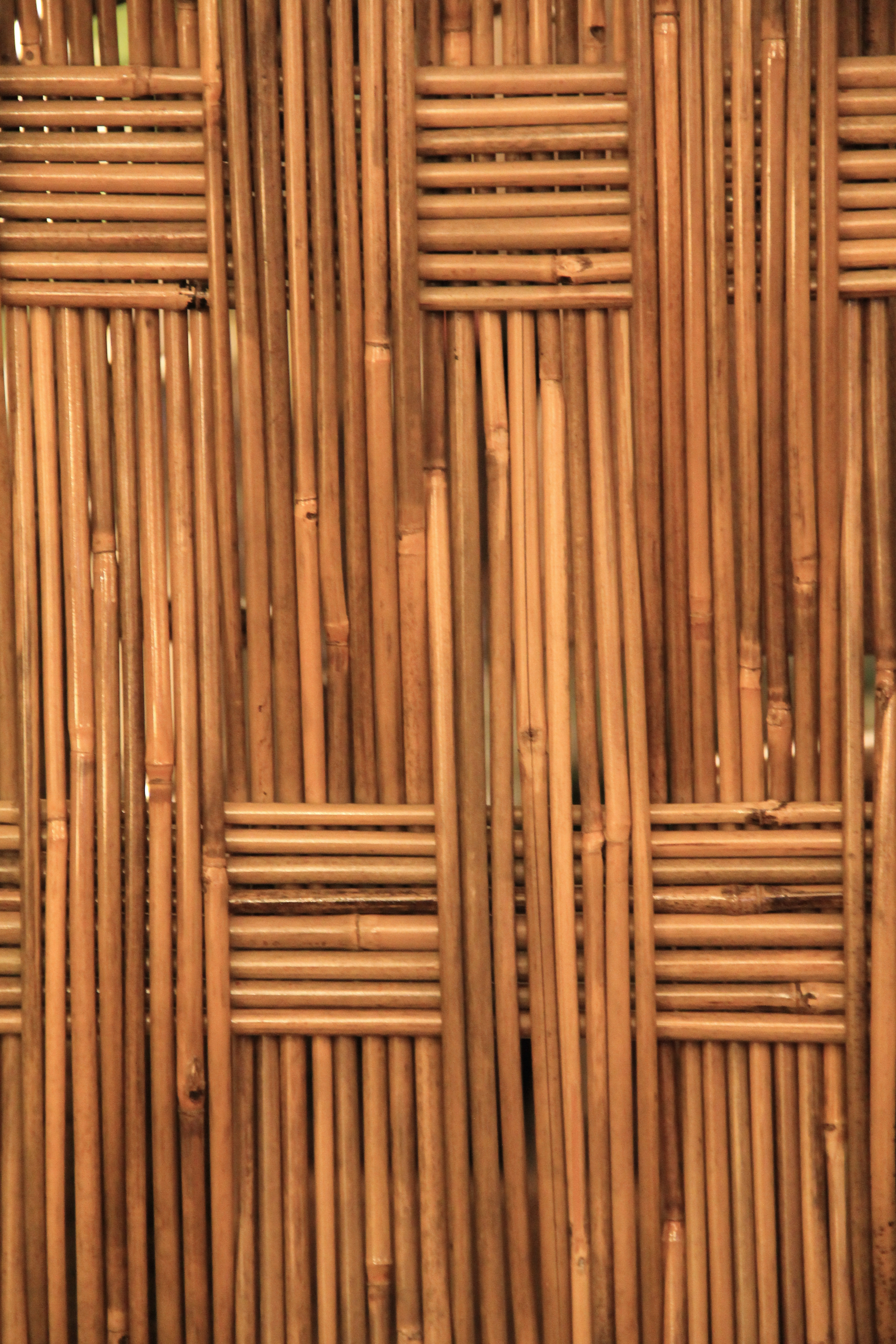 wood texture bamboo weave furniture stock photo - Texture X